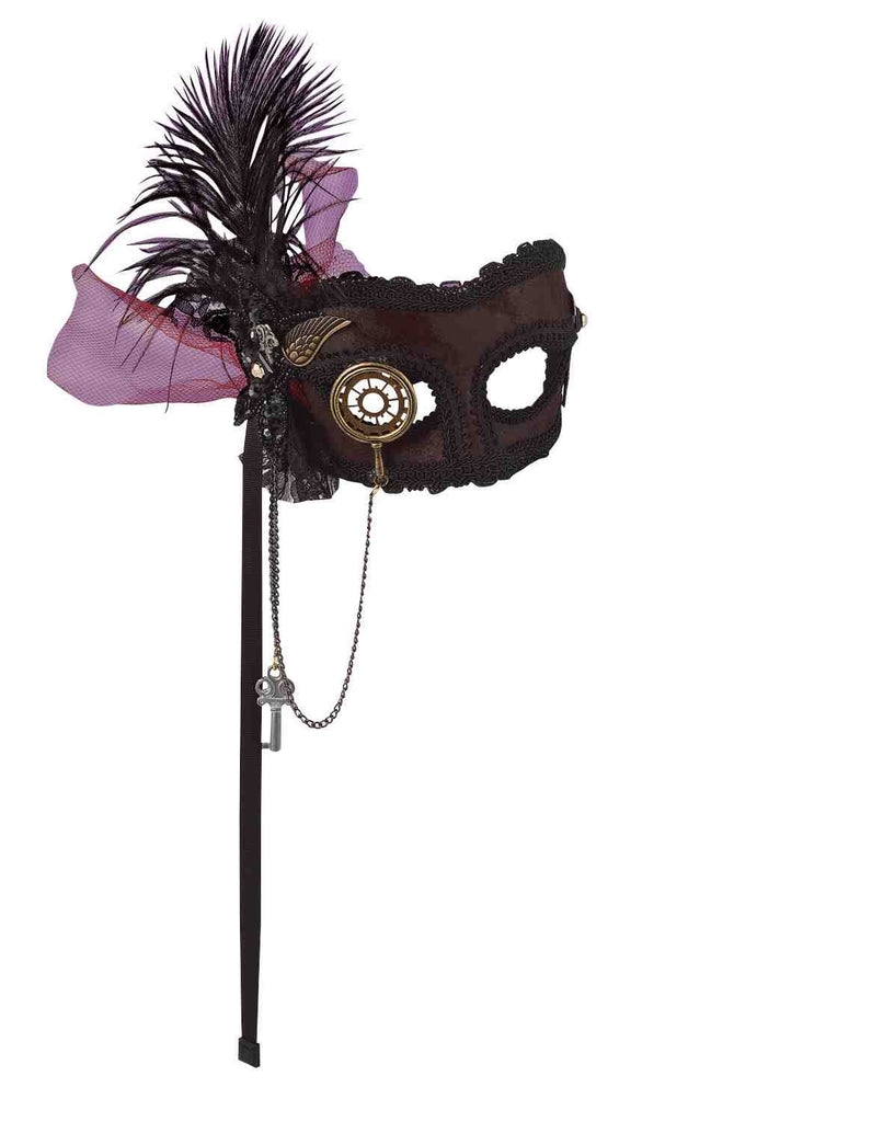 Halloween Steampunk Eye Mask - HalloweenCostumes4U.com - Accessories