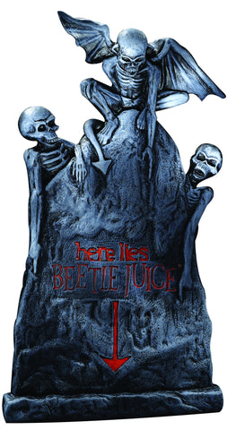 Small Beetlejuice Tombstone - HalloweenCostumes4U.com - Decorations