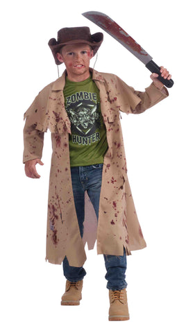 Cowboy Zombie Hunter Kids Halloween Costume - HalloweenCostumes4U.com - Kids Costumes