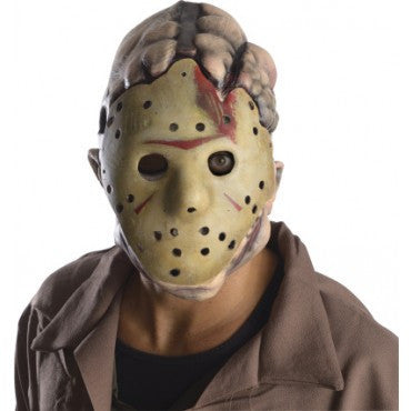 Friday the 13th Deluxe Jason Double Mask - HalloweenCostumes4U.com - Accessories