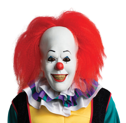 Stephen King's It Pennywise Clown It Mask - HalloweenCostumes4U.com - Accessories