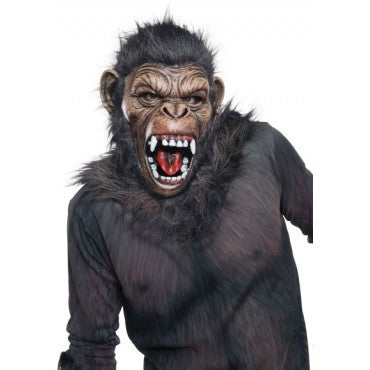 Planet of the Apes Caesar Mask - HalloweenCostumes4U.com - Accessories