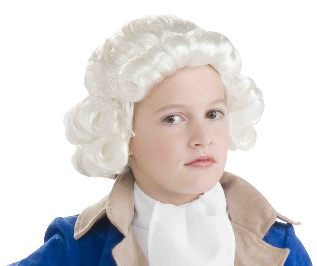Kids Female Colonial American Wig - HalloweenCostumes4U.com - Accessories