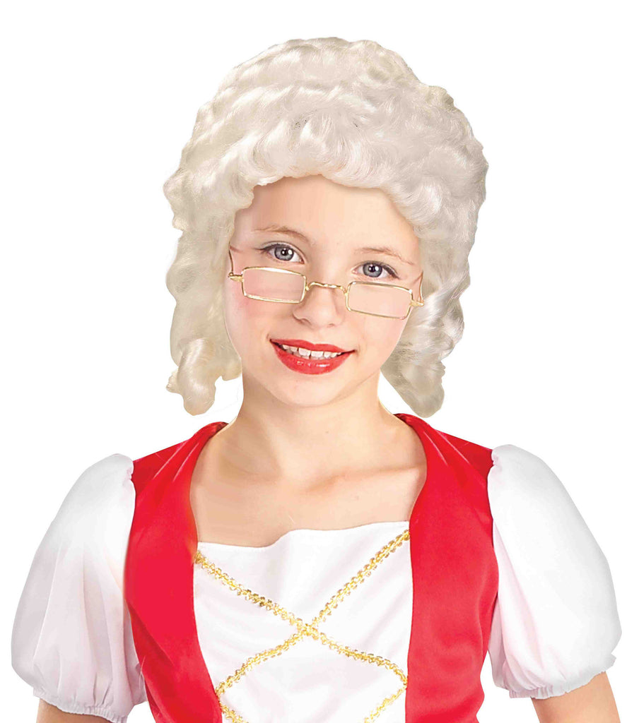 Kids Male Colonial American Wig - HalloweenCostumes4U.com - Accessories