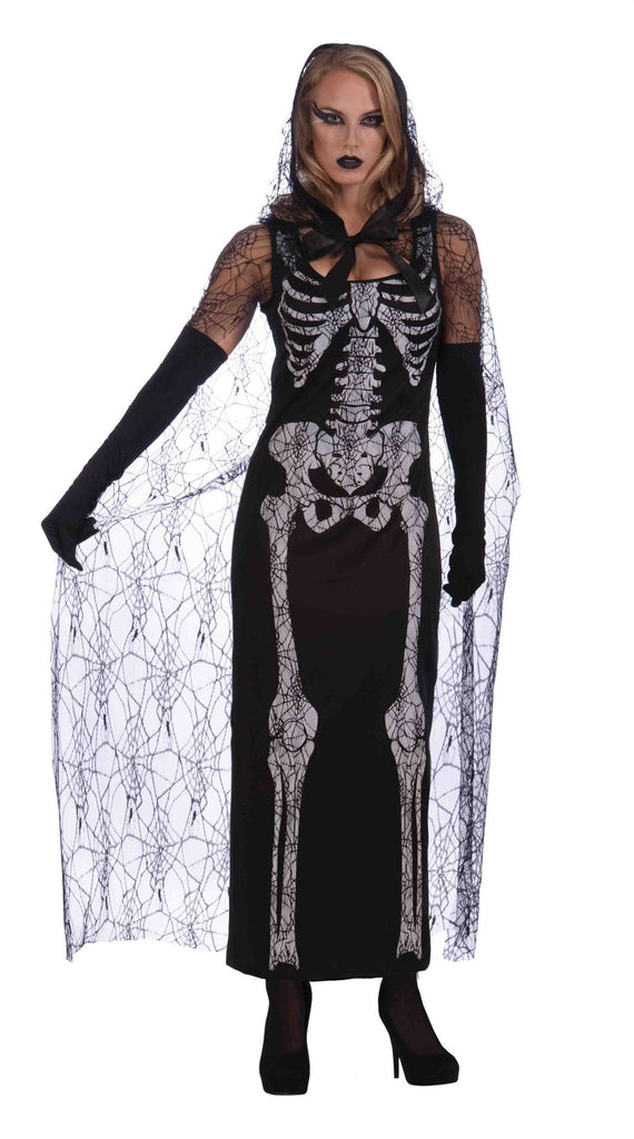 Graveyard Woman Skeleton Halloween Costume
