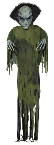 12' Hangining Alien Prop - HalloweenCostumes4U.com - Decorations