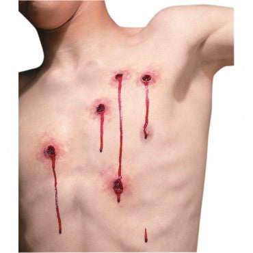 Reel F/X Bullet Wounds Prosthetic - HalloweenCostumes4U.com - Accessories