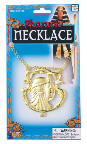 Pharaoh Costume Necklace - HalloweenCostumes4U.com - Accessories