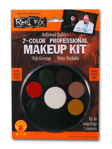 7-Color Reel F/X Professional Makeup Kit - HalloweenCostumes4U.com - Accessories