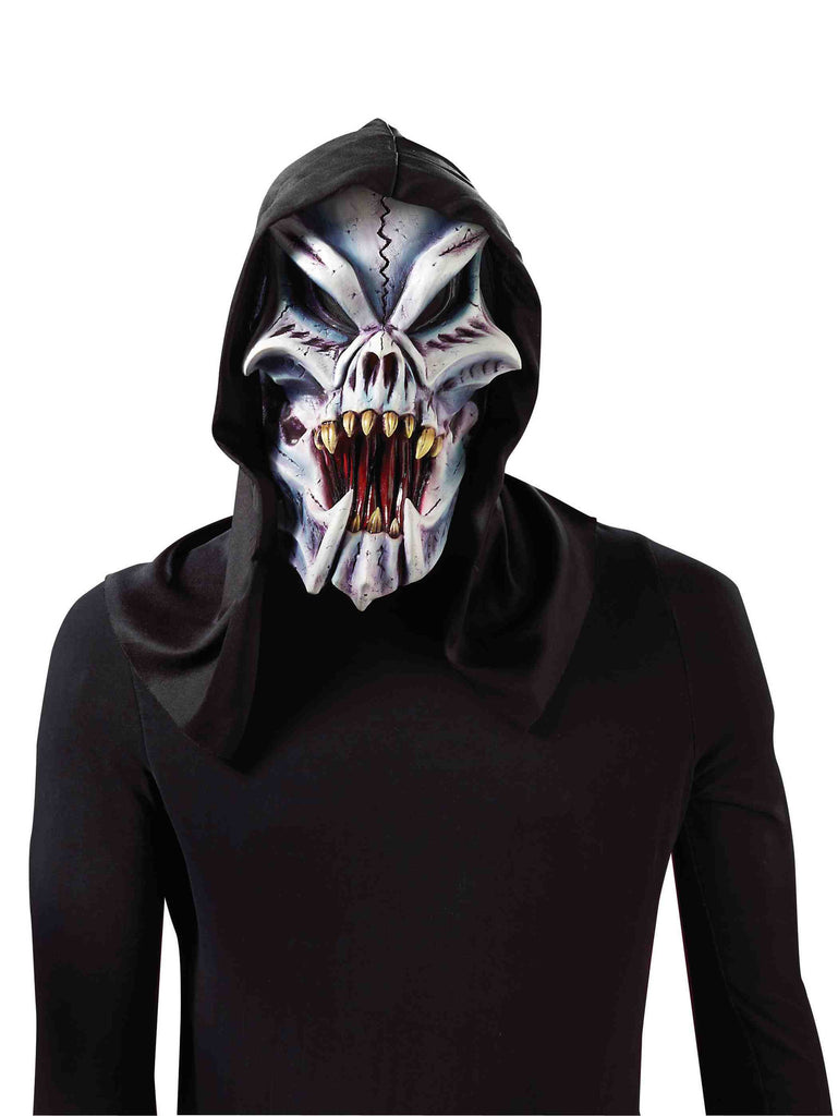 Hooded Freaky Bones Mask - HalloweenCostumes4U.com - Accessories