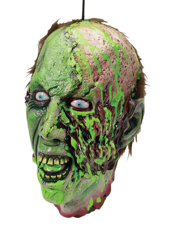 Biohazard Zombie Cut Off Head Prop - HalloweenCostumes4U.com - Decorations