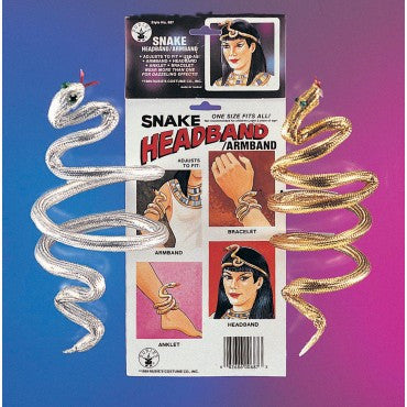 Snake Armbands - Various Colors - HalloweenCostumes4U.com - Accessories