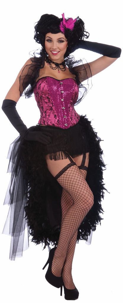 Womens Burlesque Showgirl Halloween Costume