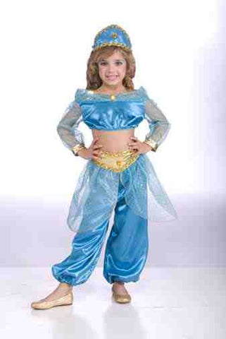 Girls Arabian Princess Costume - HalloweenCostumes4U.com - Kids Costumes