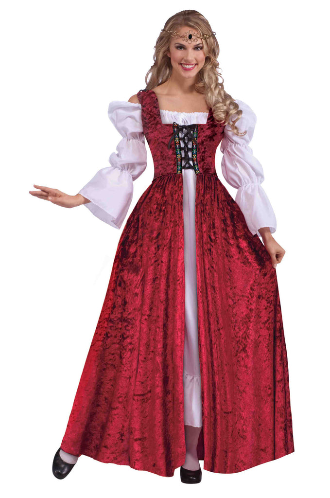 Medieval Lace-Up Gown-Plus - HalloweenCostumes4U.com - Accessories