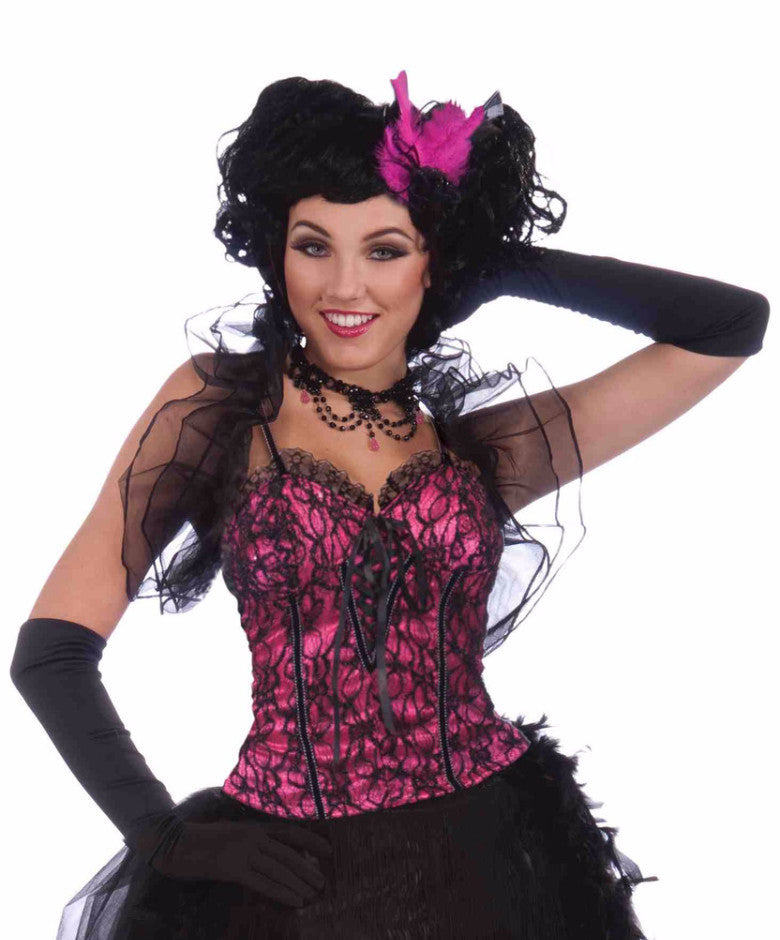 Burlesque Corset Top - HalloweenCostumes4U.com - Adult Costumes