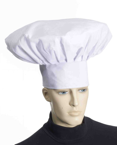 Deluxe Chef Costume Halloween Hats - HalloweenCostumes4U.com - Accessories