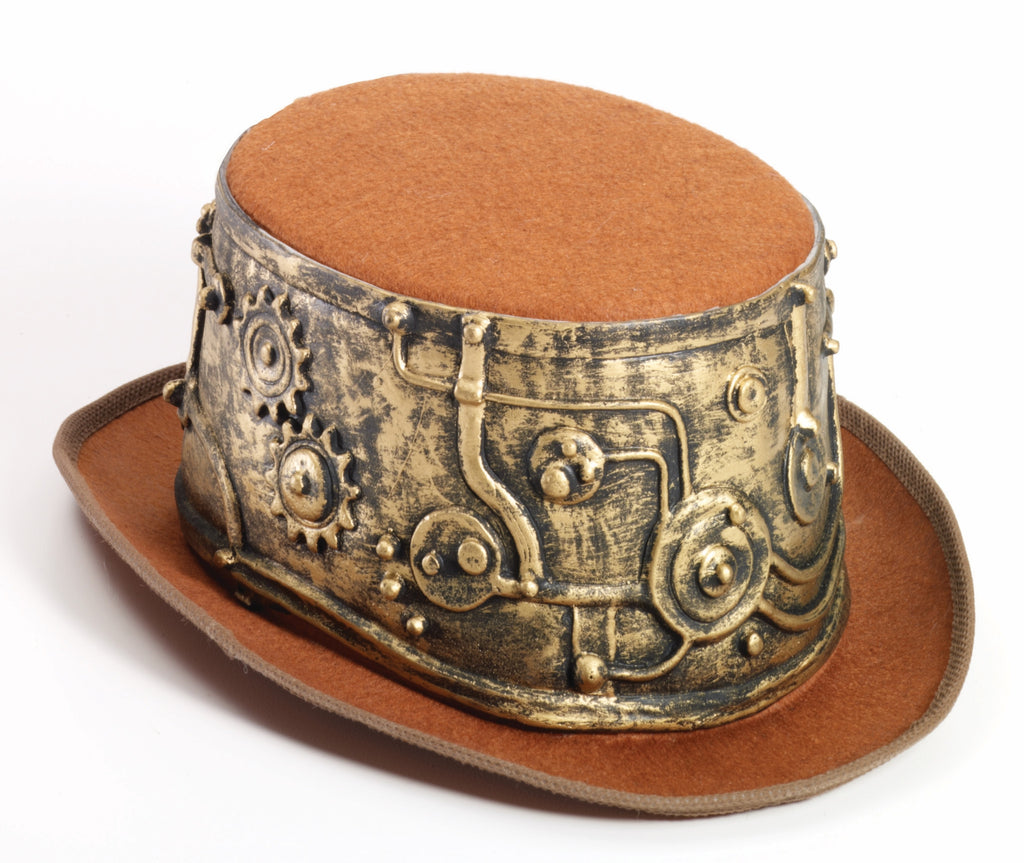 Deluxe Steampunk Guy Top Hat - HalloweenCostumes4U.com - Accessories