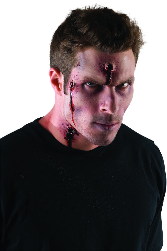 Theatrical Effects Bullet Wound Prosthetic - HalloweenCostumes4U.com - Accessories