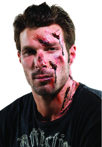 Theatrical Effects Shattered Face Wound - HalloweenCostumes4U.com - Accessories