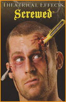 Theatrical Effects Screwed Slkull Wound - HalloweenCostumes4U.com - Accessories