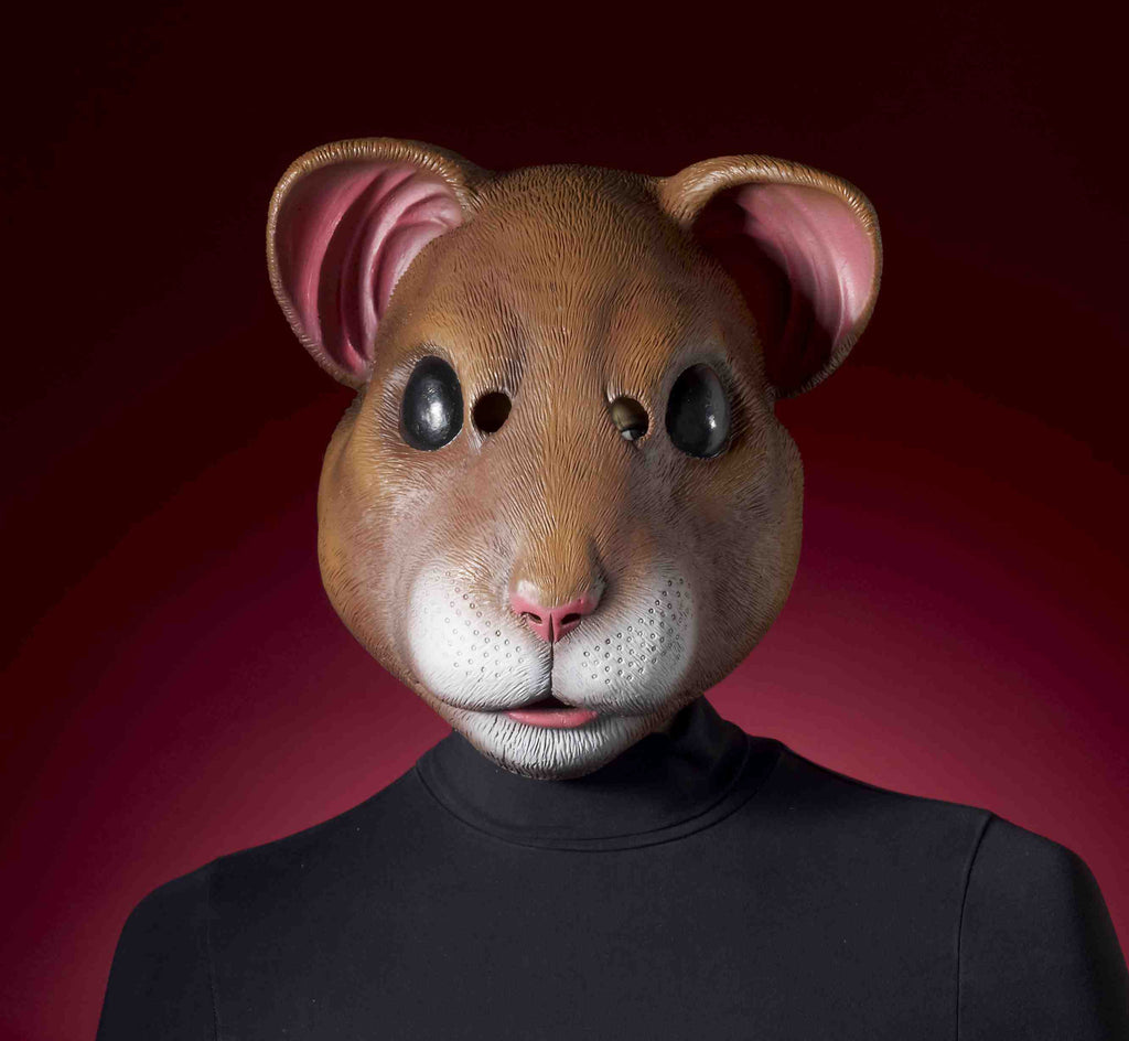 Hamster Halloween Costume Mask - HalloweenCostumes4U.com - Accessories