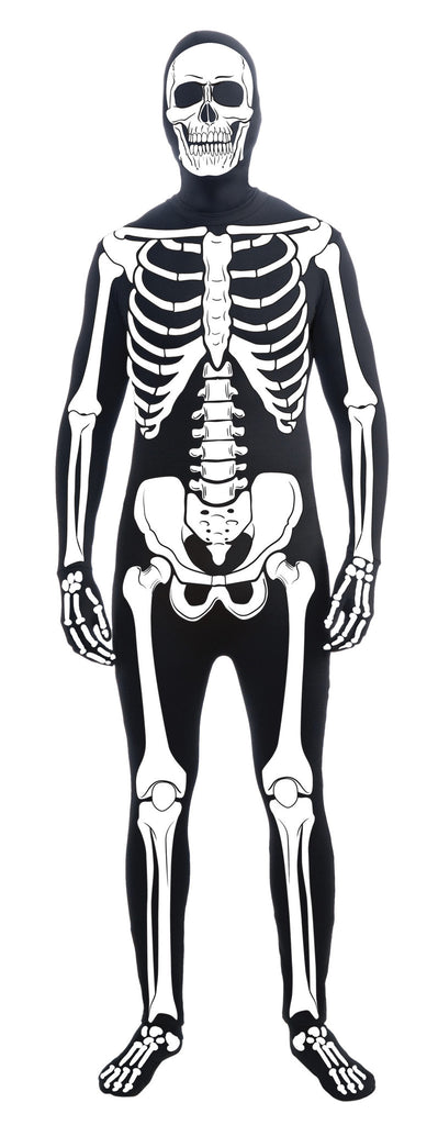 Halloween Skin Tight Skeleton Suit for Adults