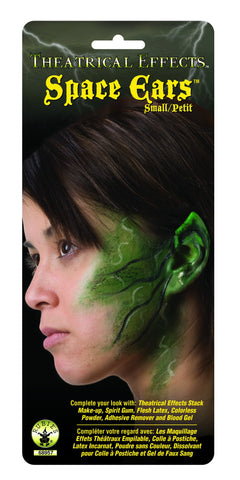 Theatrical Effects Small Alien/Elf Ears - HalloweenCostumes4U.com - Accessories
