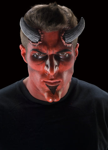 Theatrical Effects Large Devil Horns Appliance Set - HalloweenCostumes4U.com - Accessories
