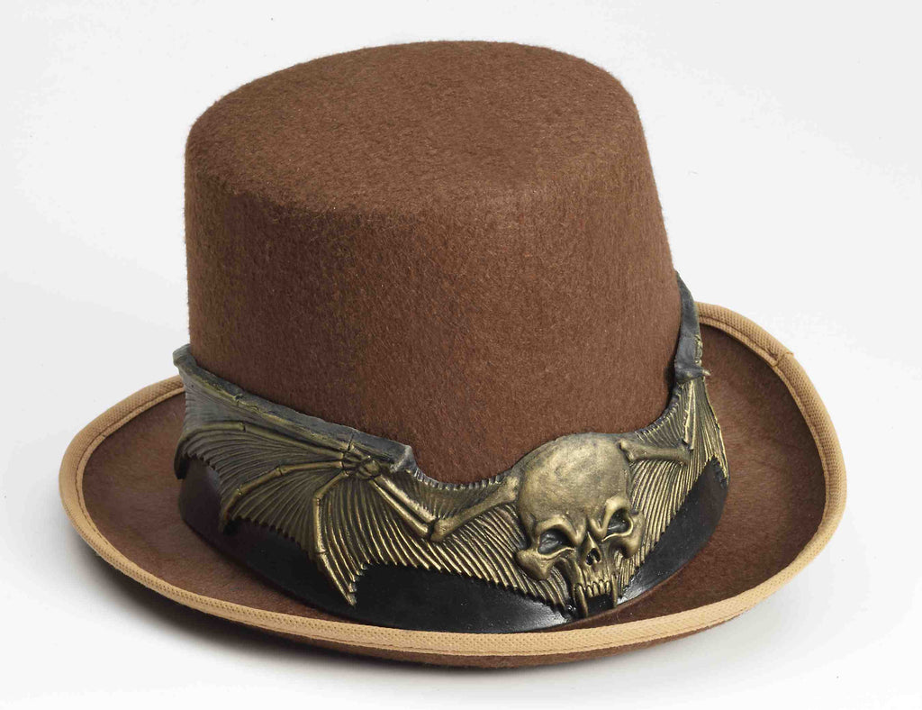Skull Wing Gothic Costume Hat