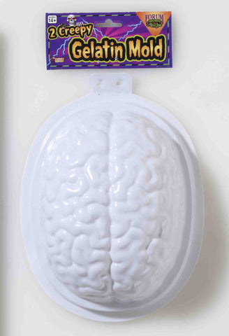 Brain Dessert Mold - HalloweenCostumes4U.com - Decorations