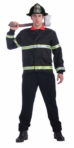 Mens Fireman Coat - HalloweenCostumes4U.com - Adult Costumes