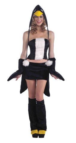 Sexy Penguin Woman Halloween Costume - HalloweenCostumes4U.com - Adult Costumes