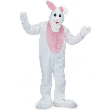 Adults Deluxe Easter Bunny Mascot/Parade Costume - HalloweenCostumes4U.com - Adult Costumes