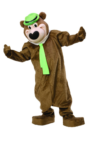 Adult Yogi Bear Mascot/Parade Costume - HalloweenCostumes4U.com - Adult Costumes