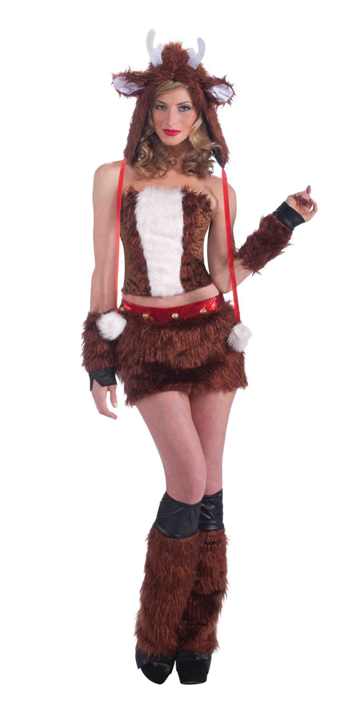 Sexy Panda Bear Halloween Costume for Ladies - HalloweenCostumes4U.com - Adult Costumes