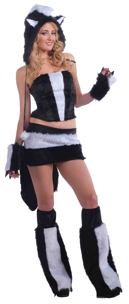 Sexy Costumes Sexy Skunk Woman Costume - HalloweenCostumes4U.com - Adult Costumes