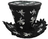 Pirate Costume Top Hat - HalloweenCostumes4U.com - Accessories