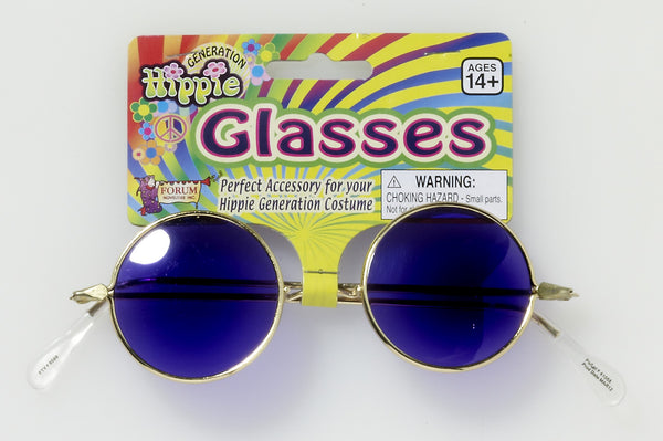 Halloween Costume Hippie Glasses