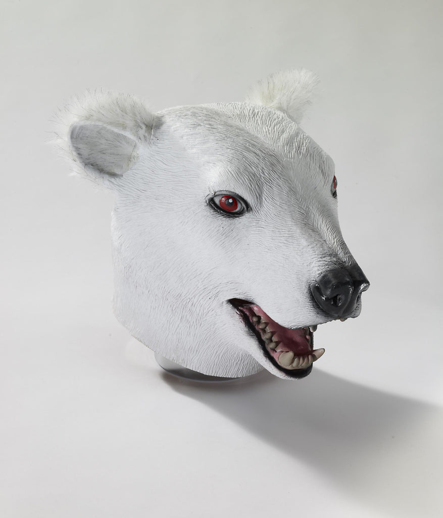 Mask-Deluxe Latex Polar Bear