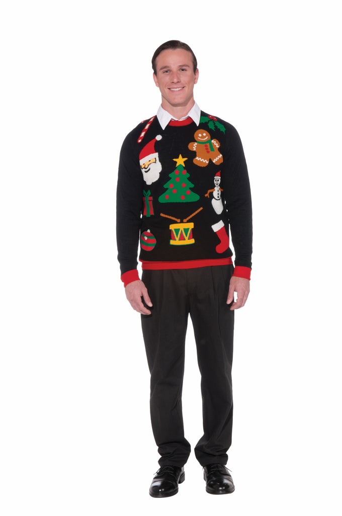 Everything Christmas Sweater-M - HalloweenCostumes4U.com - Costumes