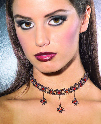 Vampire Choker Necklace - HalloweenCostumes4U.com - Accessories