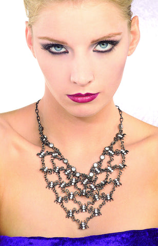 Spider Necklace - HalloweenCostumes4U.com - Accessories