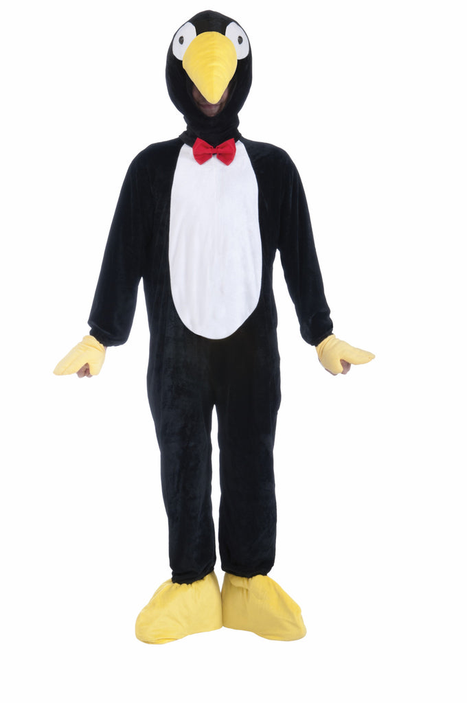 Costume-Mascot-Plush Penguin - HalloweenCostumes4U.com - Adult Costumes