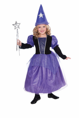 Girls Mystical Mischievous Witch Costume - HalloweenCostumes4U.com - Kids Costumes