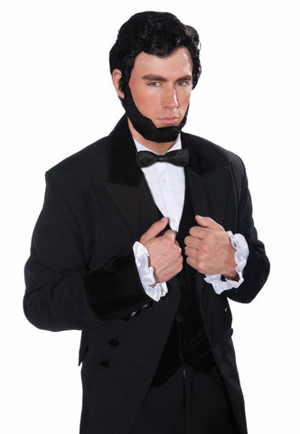 Wig-Lincoln Wig & Beard - HalloweenCostumes4U.com - Accessories