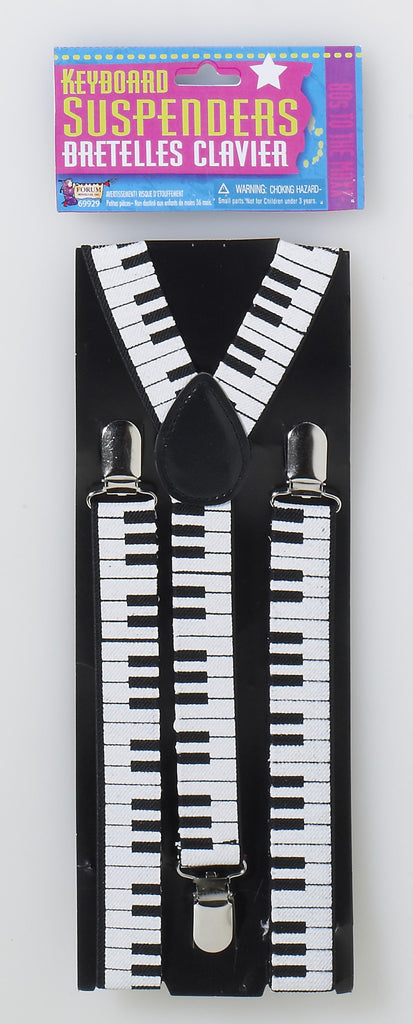 Keyboard Suspenders - HalloweenCostumes4U.com - Accessories