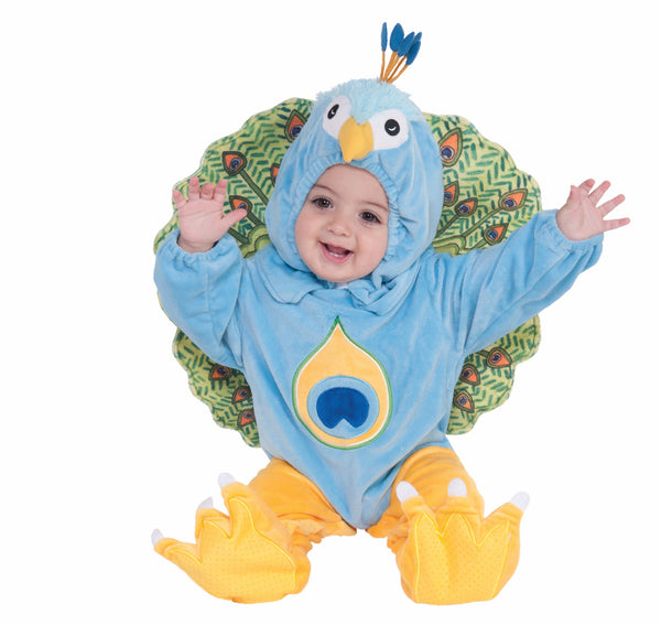 Infants/Toddlers Peacock Costume - HalloweenCostumes4U.com - Infant & Toddler Costumes - 1