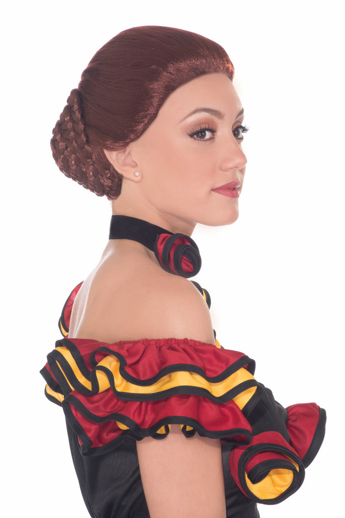 Wig-Spanish Dancer-Auburn - HalloweenCostumes4U.com - Accessories