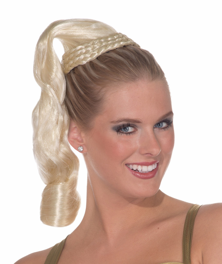 Wig-Goddess Hairpiece-Blonde - HalloweenCostumes4U.com - Accessories